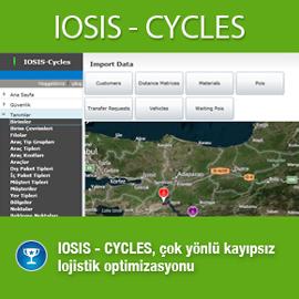IOSİS-CYCLES, SİSTEK bünyesinde geliştirilen bir AR-GE çalışmasıdır.